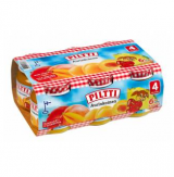 Piltti манго, абрикос и ананас, с 4 мес. 6 шт. 125г / Aurinkoinen