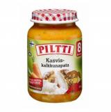 Piltti овощи с рисом и индейкой, с 8 мес. 200г / Kasvis-kalkkunapata
