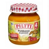 Piltti пюре овощное, с 4 мес. 125г / Porkkanaa ja perunaa