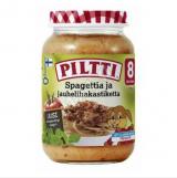 Piltti спагетти с мясом под соусом, с 8 мес. 200г / Spagettia ja jauhelihakastiketta