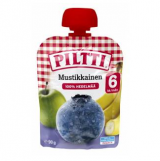 Piltti черника, банан и яблоко, с 6 мес. 90г / Mustikkainen