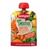 Semper Green Smoothie манго, морковь, яблоко и мята, с 6мес. 90г / mango, porkkana, omena, minttu