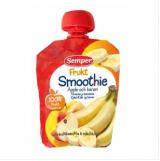 Semper Smoothie Frukt яблоко и банан, с 6мес. 90г / omenaa ja banaania