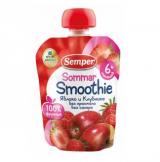 Semper Smoothie Sommar яблоко и клубника, с 6мес. 90г / omenaa ja mansikkaa