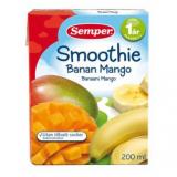 Semper Smoothie банан и манго, с 12мес. 200мл / banaani mango