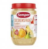 Semper банан, апельсин, ананас и йогурт, с 8мес. 190г / Aurinkohedelmiä & jogurttia