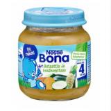 Bona сладкий картофель с кабачком, с 4 мес. 125г / Bataattia ja kesäkurpitsaa