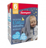 Semper с рисом (ночной), 6 мес. 200мл / Iltavelli käyttövalmis