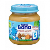 Bona сладкий картофель с курицей, с 5 мес. 125г / Bataattia ja kanaa