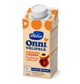 Valio персик, рис и творог, с 5мес. 215г / Onni persikka-rahkavälipala