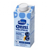 Valio черника, овсяные хлопья и йогурт, с 5мес. 215г / Onni mustikka-kaura-jogurttivälipala