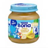 Bona яблоко, банан, апельсин, с 4 мес. 125г / Omenaa, banaania ja appelsiinia