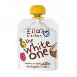 Ella's Kitchen Smoothie белые фрукты, с 6мес. 90г / White One Valkoinen hedelmä
