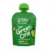 Ella's Kitchen Smoothie зеленые фрукты, с 6мес. 90г / Green One Vihreä hedelmä