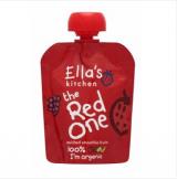 Ella's Kitchen Smoothie красные фрукты, с 6мес. 90г / Red One Punainen hedelmä