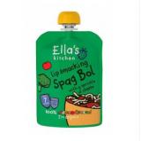 Ella's Kitchen спагетти болоньезе, с 7 мес. 130г / Spagetti Bolognese luomu