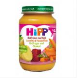 Hipp говядина с овощами, с 6 мес. 190г / Luomu Juureksia ja naudanlihaa