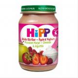 Hipp красные ягоды, яблоки и йогурт, с 6мес. 190г / Punaiset marjat, Omenaa ja jogurttia
