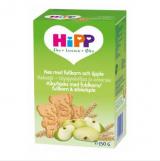 Hipp крекеры цельное зерно и яблоки, с 12мес. 150г / Keksit täysjyväviljaa ja omenaa