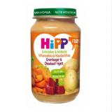 Hipp овощи и говядина, с 12 мес. 220г / Luomu Vihanneksia ja naudanlihaa