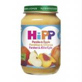 Hipp персик и яблоко, с 8мес. 190г / Persikkaa & Omenaa