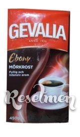 Заварной кофе GEVALIA EBONY Morkrost, 450 гр