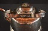 Чайник медный, никелированный