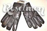 Утепленные кожаные перчатки размер 10