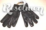 Утепленные кожаные перчатки размер 8,5