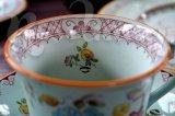Чайный набор на 6 персон Lowestoft Style Produced by Crown Devon