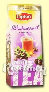 Lipton Blackcurrant. Черный листовой чай с ягодами черной смородины