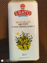 Масло оливковое Olio Extra Vergin ERATO 1 литр