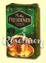 Молотый кофе Paulig Prezident Tumma для чайников