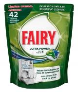 Fairy капсулы для посудомоечной машины 42шт / All in One Original astianpesuainetabletti