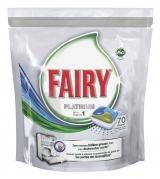 Fairy капсулы для посудомоечной машины 70шт / Platinum Original konetiskitabletti