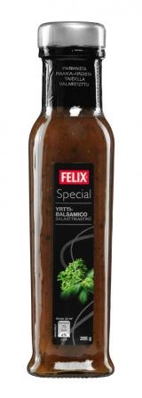 Felix бальзамический дрессинг с травами 285г / Special yrtti-balsamico salaattikastike