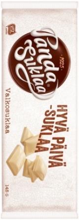 Шоколад белый Panda Suklaa 145 гр