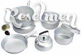 Набор посуды из аллюминия