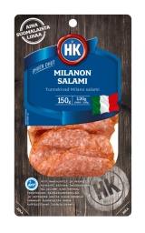 HK Салями Миланон ультратонкая нарезка 150г / Milanon salami вакуум. пак.