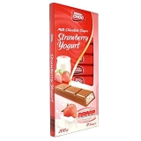 Молочный шоколад Mister Choc Strawberry & Yogurt 200 гр