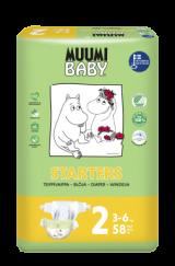 Muumi Baby  Mini 3-6 кг. 58 шт.