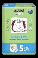 Muumi Baby Walkers Maxi+ 7-15 кг. 40 шт.