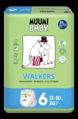 Muumi Baby Walkers Junior 12-20 кг. 36 шт.