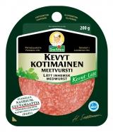 Snellman Салями из свинины легкая нарезка 200г / Kevyt kotimainen meetvursti viipaleet вакуум. пак.