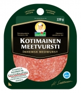 Snellman Салями из свинины нарезка 220г / Kotimainen meetvursti viipaleet вакуум. пак.
