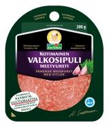 Snellman Салями с чесноком нарезка 200г / Kotimainen valkosipulimeetvursti viipaleet вакуум. пак.