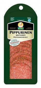 Snellman Салями с перцем нарезка 120г / Pippurinen meetvursti viipaleet вакуум. пак.