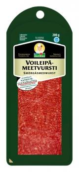 Snellman Салями бутербродная нарезка 200г / Voileipämeetvursti kestomakkaraviipaleet вакуум. пак.