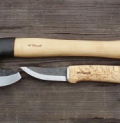 Топор Roselli R860 короткий + нож R100 подарочный
