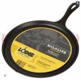 Сковорода круглая блинная Moose Logo - Лого Лось, 26 см  Lodge